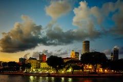Beröm för Singapore jubileumfödelsedag SG50 Arkivfoton