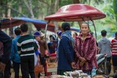 Beröm Hmong för nytt år Royaltyfria Foton