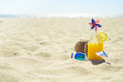 Beröm på sommarstranden Royaltyfria Bilder