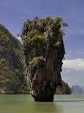 berömd ö thailand Arkivbilder