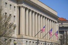 Berömd byggnad i Washington - byrån av gravyr och printing - WASHINGTON, DISTRICT OF COLUMBIA - APRIL 8, 2017 arkivbild
