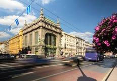 Berömd Eliseev Kupetz mat Hall, St Petersburg Royaltyfri Foto