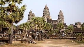 Berömd en khmertempel, Kambodja arkivfilmer