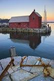 berömd fiskehydda Royaltyfri Foto