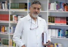 Berömd forskare/doktor fotografering för bildbyråer