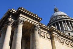 berömd france pantheon paris Arkivfoton