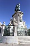 berömd fyrkantig staty för kommers Royaltyfria Bilder