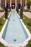 Berömd Getty villa Arkivfoto