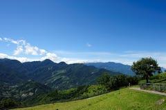 berömd hehuan liggandebergtaiwan taroko Fotografering för Bildbyråer