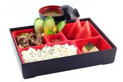 Berömd japan Bento Box Royaltyfria Foton