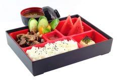 Berömd japan Bento Box Arkivbild