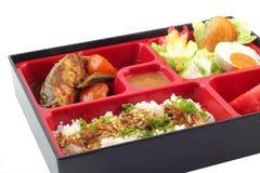 Berömd japan Bento Box Fotografering för Bildbyråer