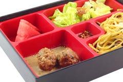 Berömd japan Bento Box Arkivfoto
