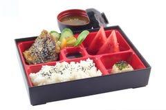 Berömd japan Bento Box Arkivfoton