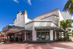 Berömd koloni Art Deco Theater Arkivbild