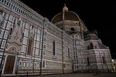 Berömd kyrka i Florence, Tuscany, Italien Royaltyfria Foton