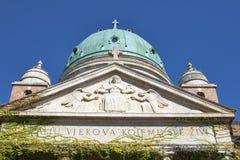 Berömd kyrkogård Mirogoj Royaltyfri Foto