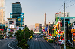 Berömd Las Vegas remsa Arkivbild