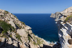 Berömd Lock de Formentor i Spanien Royaltyfria Foton
