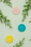 Berömd mat för kines Mooncakes Kinesiska bakelser traditionellt e Arkivfoton