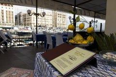 Berömd restaurang CIRO i Naples Royaltyfri Fotografi