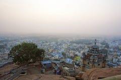 Berömd Rockfort Ucchi Pillayar tempel Royaltyfria Foton