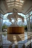 Berömd staty arkivbild