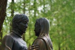 Berömd staty av Nami Island Arkivbilder