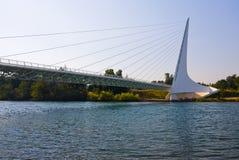 berömd sundial för bro Arkivfoto