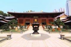 Berömd tempel i Hong Kong Royaltyfri Bild