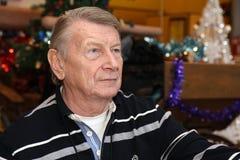 Berömd tjeckisk skådespelare Josef Dvorak royaltyfri bild