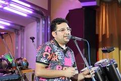 Berömd uzbekisk sångare DJ Shurik royaltyfri fotografi