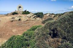 Berömda Cap Corse i norden av Korsika, Frankrike Royaltyfria Bilder