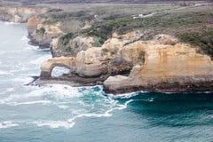 Berömda härliga 12 apostlar i Australien Arkivbild