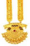 Berömda indiska brud- Sita Har eller Sita halsband royaltyfri foto
