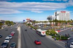 Berömda Las Vegas, dragningar, boulevard, Nevada, USA Royaltyfri Fotografi