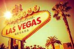 Berömda Las Vegas Nevada Royaltyfri Bild