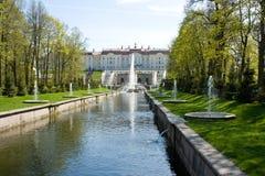 Berömda springbrunnar. Royaltyfria Foton