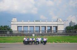 berömdag russia Arkivbilder