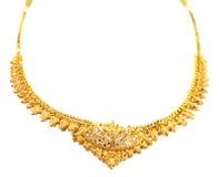 Berömdt indiskt brud- halsband Royaltyfria Foton
