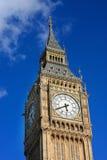berömdt london ben för stor klocka torn uk Arkivbild