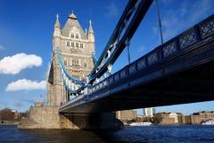 berömdt london för bro torn uk Royaltyfri Fotografi