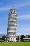 berömdt lutande pisa torn Royaltyfri Bild
