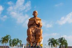 berömdt tempel thailand Wat tham stämmer Royaltyfri Fotografi