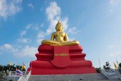 berömdt tempel thailand Wat tham stämmer Royaltyfri Bild