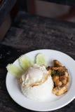 berömdt thai för maträtt Royaltyfri Fotografi