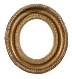 Berömmelse för bild för antik tappning för ram oval hängande med att fästa ihop PA Royaltyfri Foto