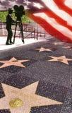 berömmelse hollywood USA går royaltyfri fotografi