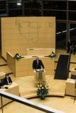 Berömmen av Schleswig-Holstein Landtag arkivbild