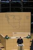 Berömmen av Schleswig-Holstein Landtag royaltyfria bilder